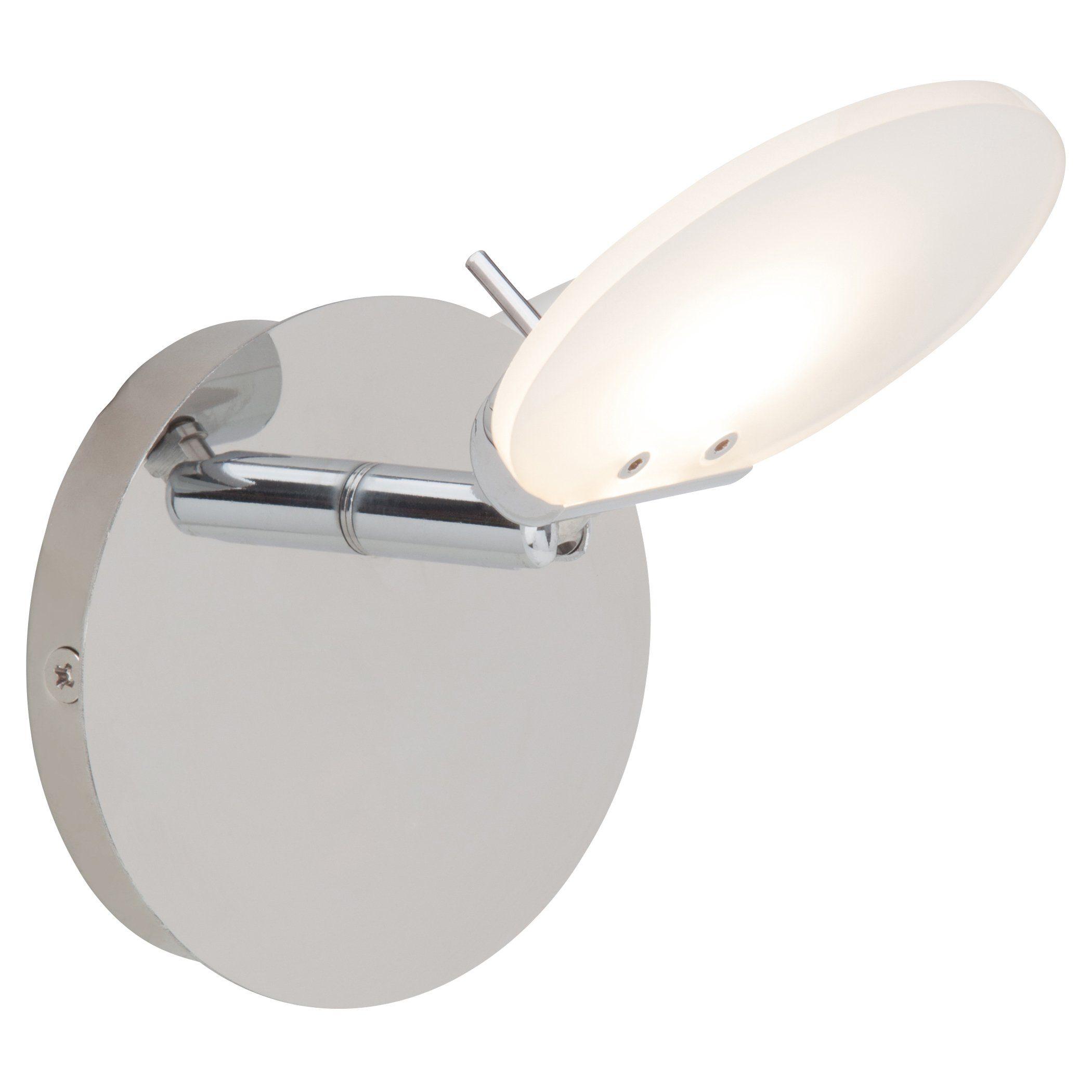 Brilliant Leuchten Shirin LED Wandspot chrom