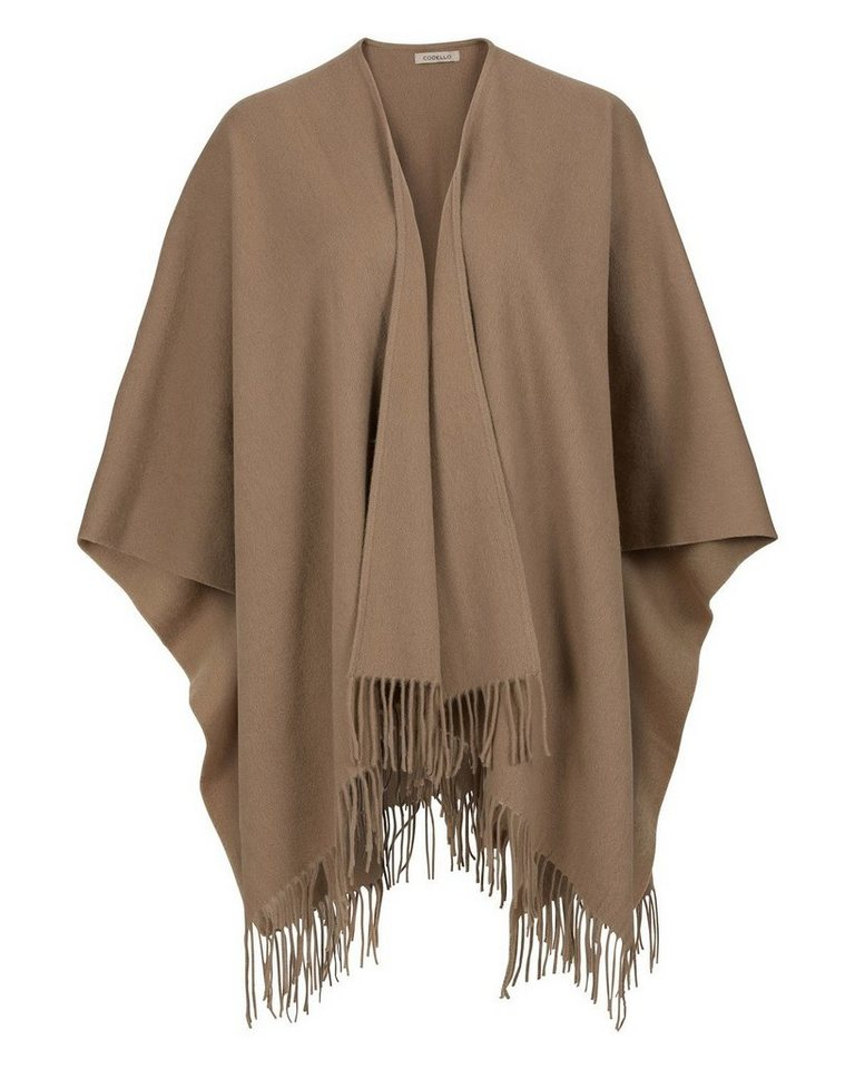 Codello Wollponcho in Sand