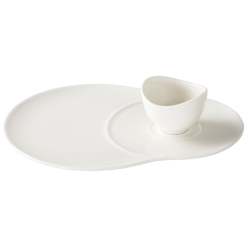 vivo Villeroy & Boch Group Set Teller+Dip 4 tlg. »Voice Basic«