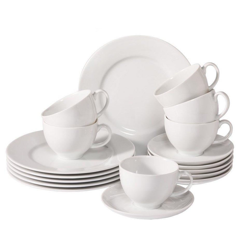 SDV GALLO Kaffee Set 18tlg. »New Sweet Basic« in Weiss