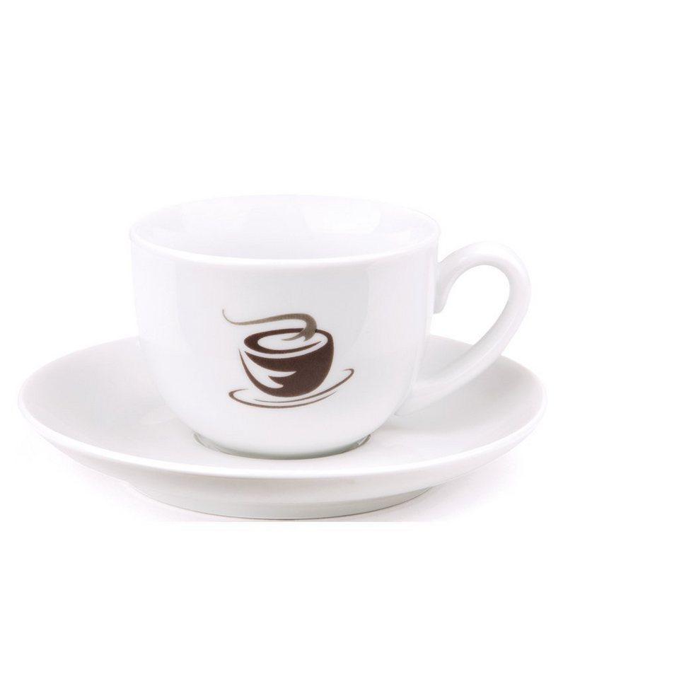 VIVO VILLEROY & BOCH GROUP Espressotassen Set 4tlg »Hot Basics« in dekoriert