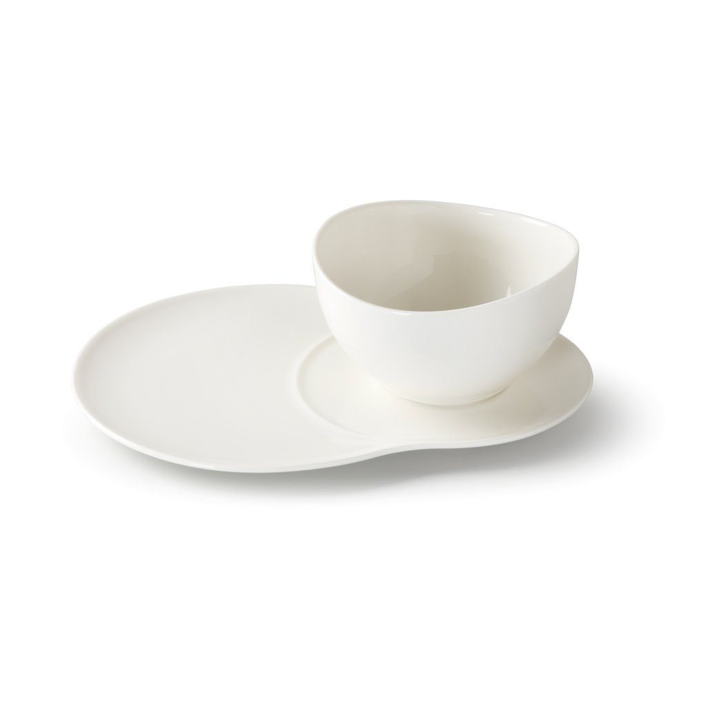 vivo Villeroy & Boch Group Set Teller+Bol 4 tlg. »Voice Basic«