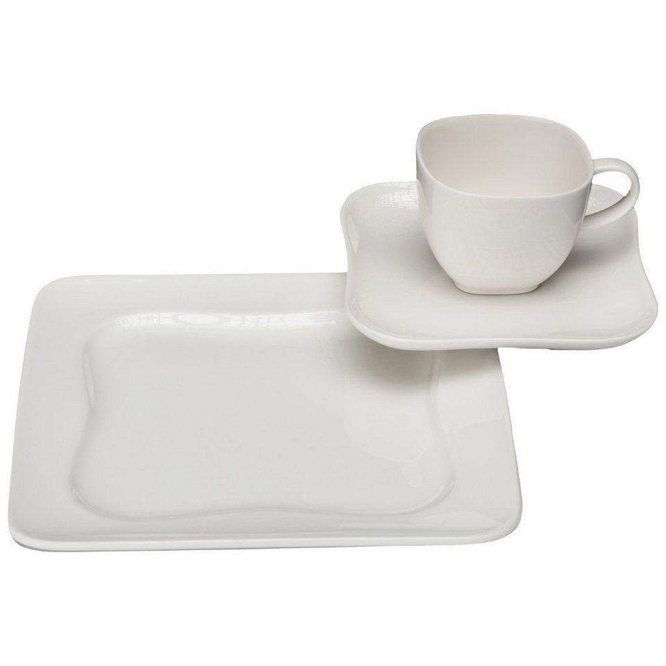 VIVO - VILLEROY & BOCH Kaffee Set 18tlg. »Design 0701« in Weiss