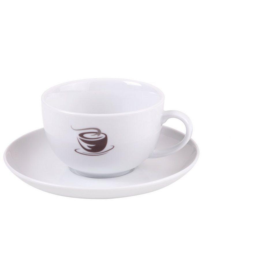 VIVO VILLEROY & BOCH GROUP Milchkaffeetassen Set4tlg »Hot Basics« in dekoriert