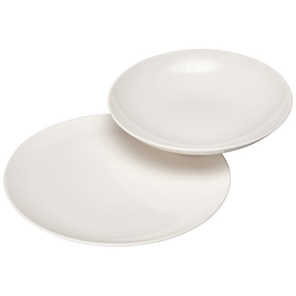 VIVO - VILLEROY & BOCH Tafelset 12tlg. »Voice Basic« in Weiss