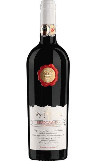 Rotwein aus Italien, 14,5 Vol.-%, 75,00 cl »2014 Negroamaro Ripa di Sotto«