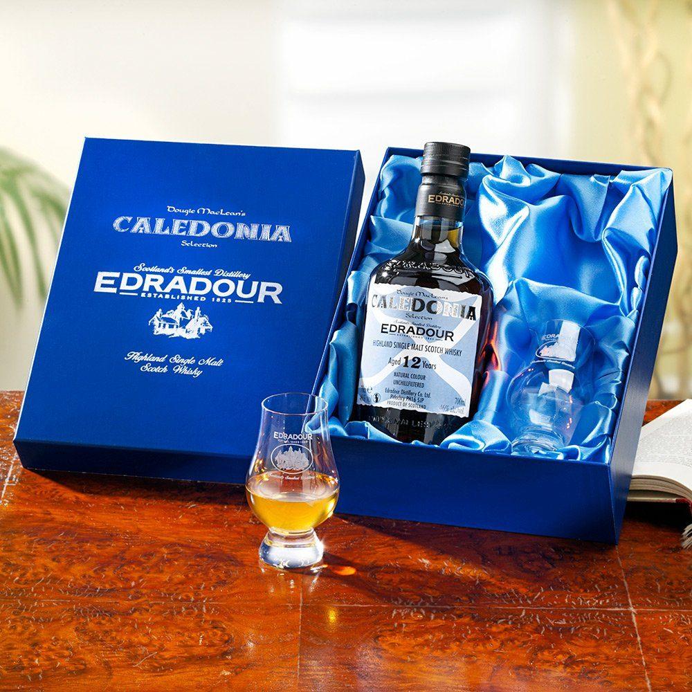 Edradour Whisky Geschenkset 0.7 l