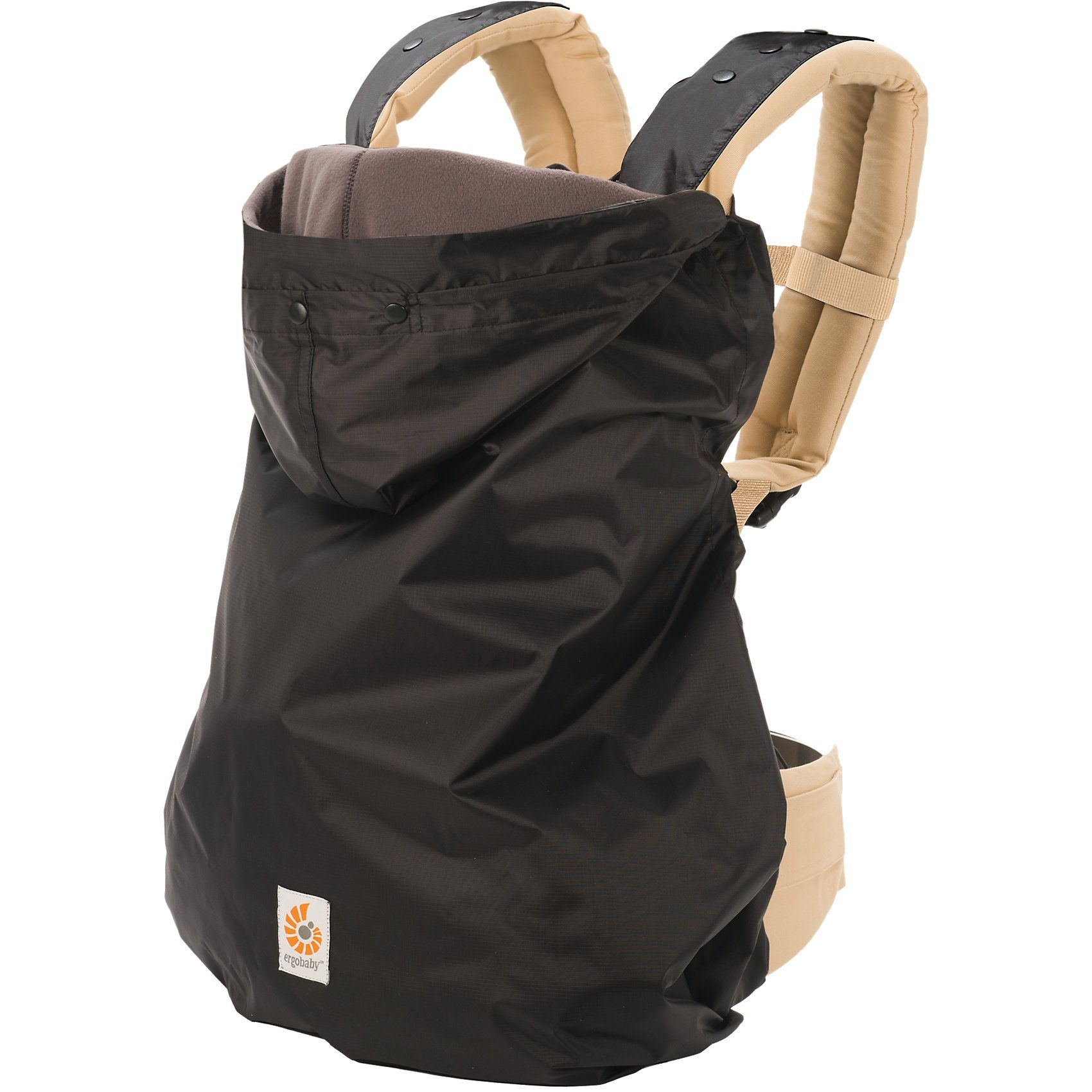 ERGObaby Winter-Cover 2in1, Black/Charcoal