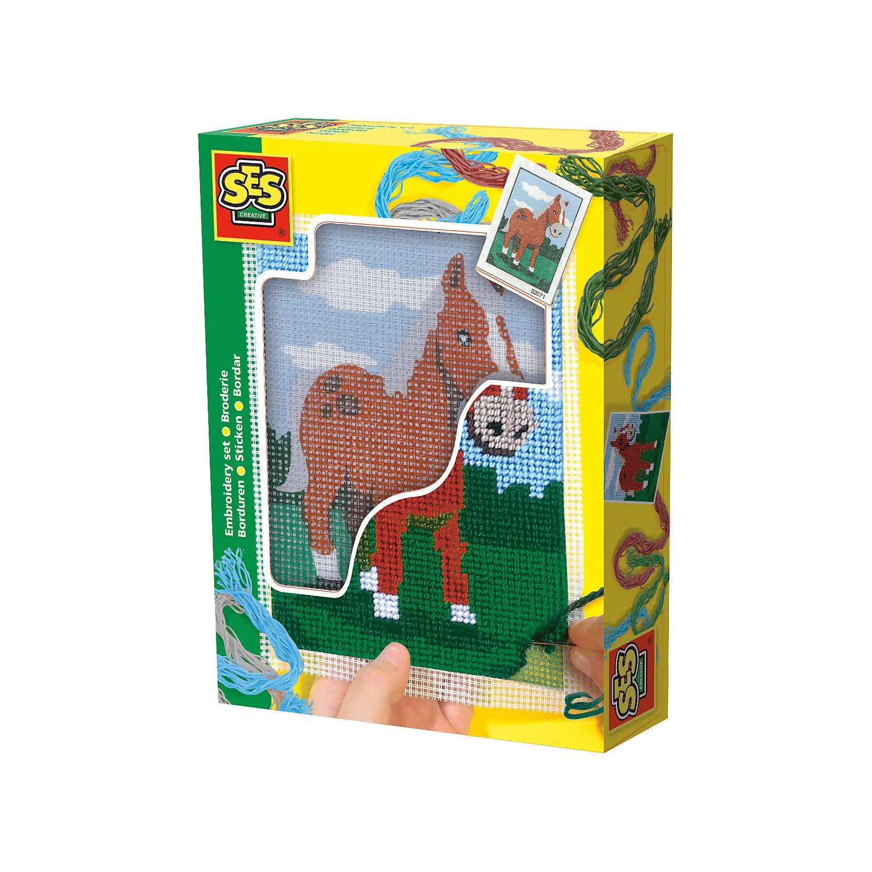 SES Creative Stickset Pony