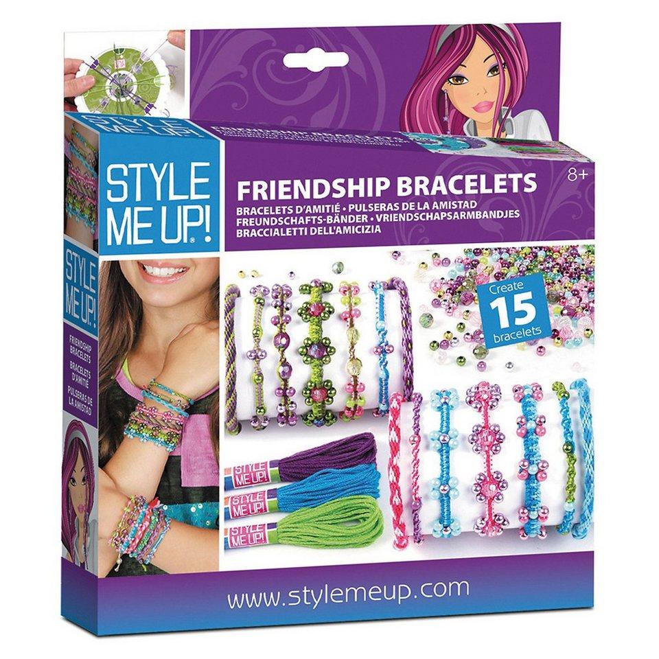Style Me Up ! Kreativset Freundschaftsbänder, sortiert