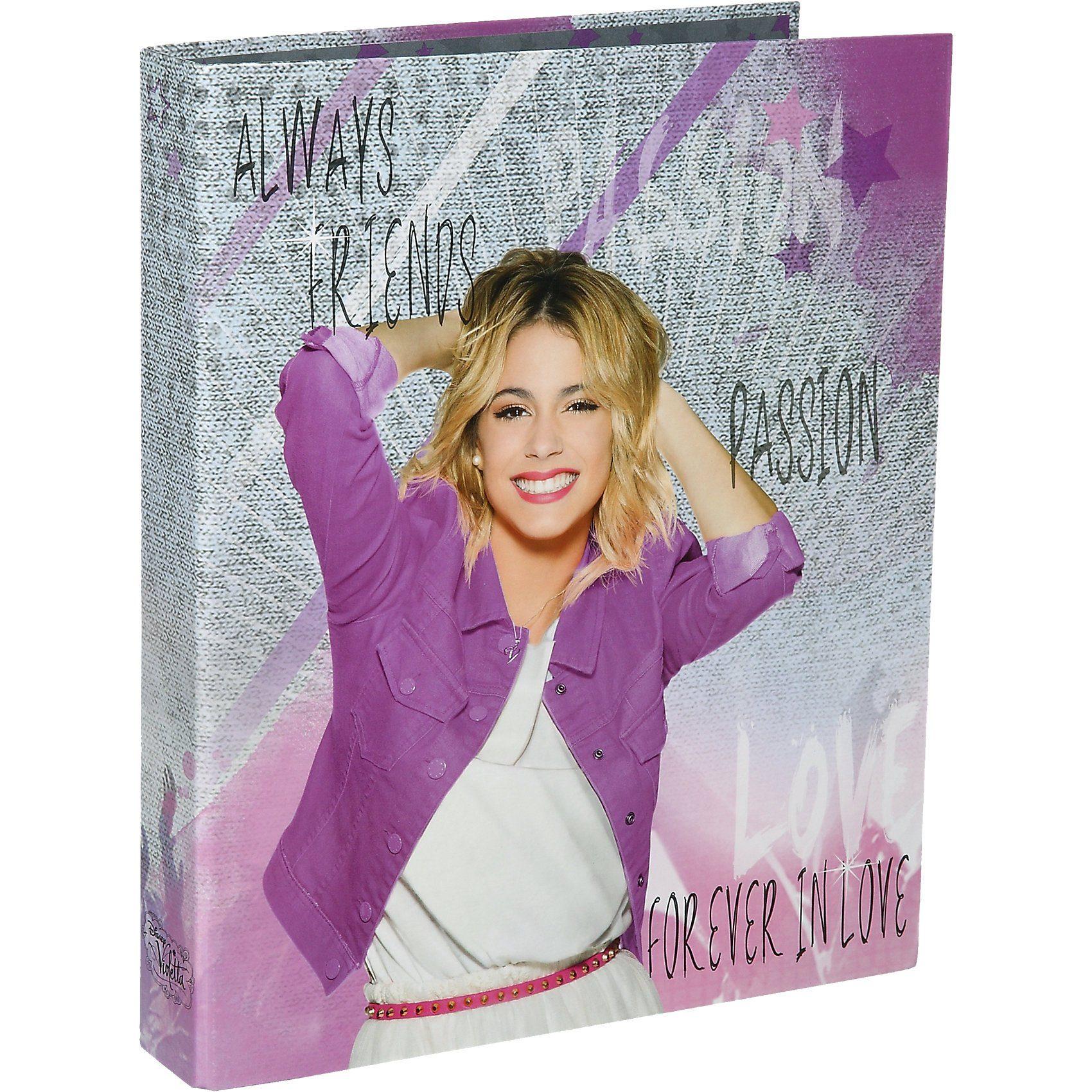 UNDERCOVER Ringbuch Violetta