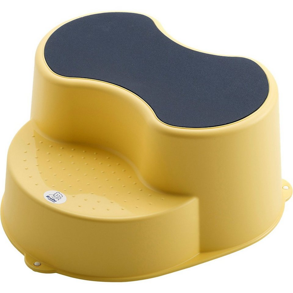 Rotho Babydesign Trittschemel Top, vanilla honey perl in gelb