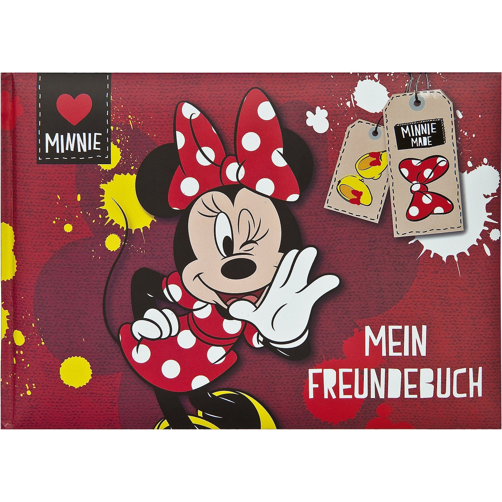 UNDERCOVER Freundebuch A5 Minnie Mouse