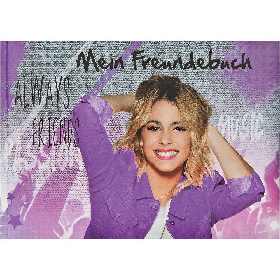 UNDERCOVER Freundebuch A5 Violetta