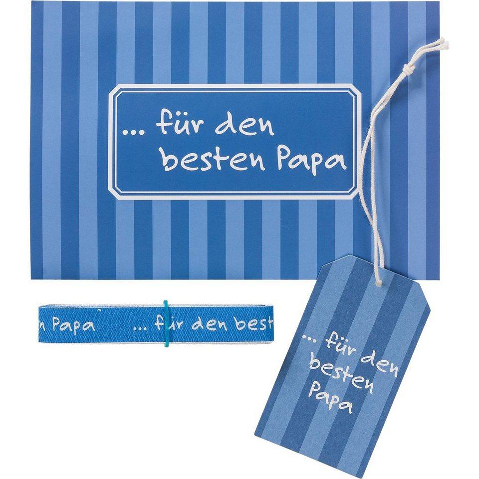"""Hotex Beste Sprüche Set """"Für den besten Papa"""", 3-tlg."""