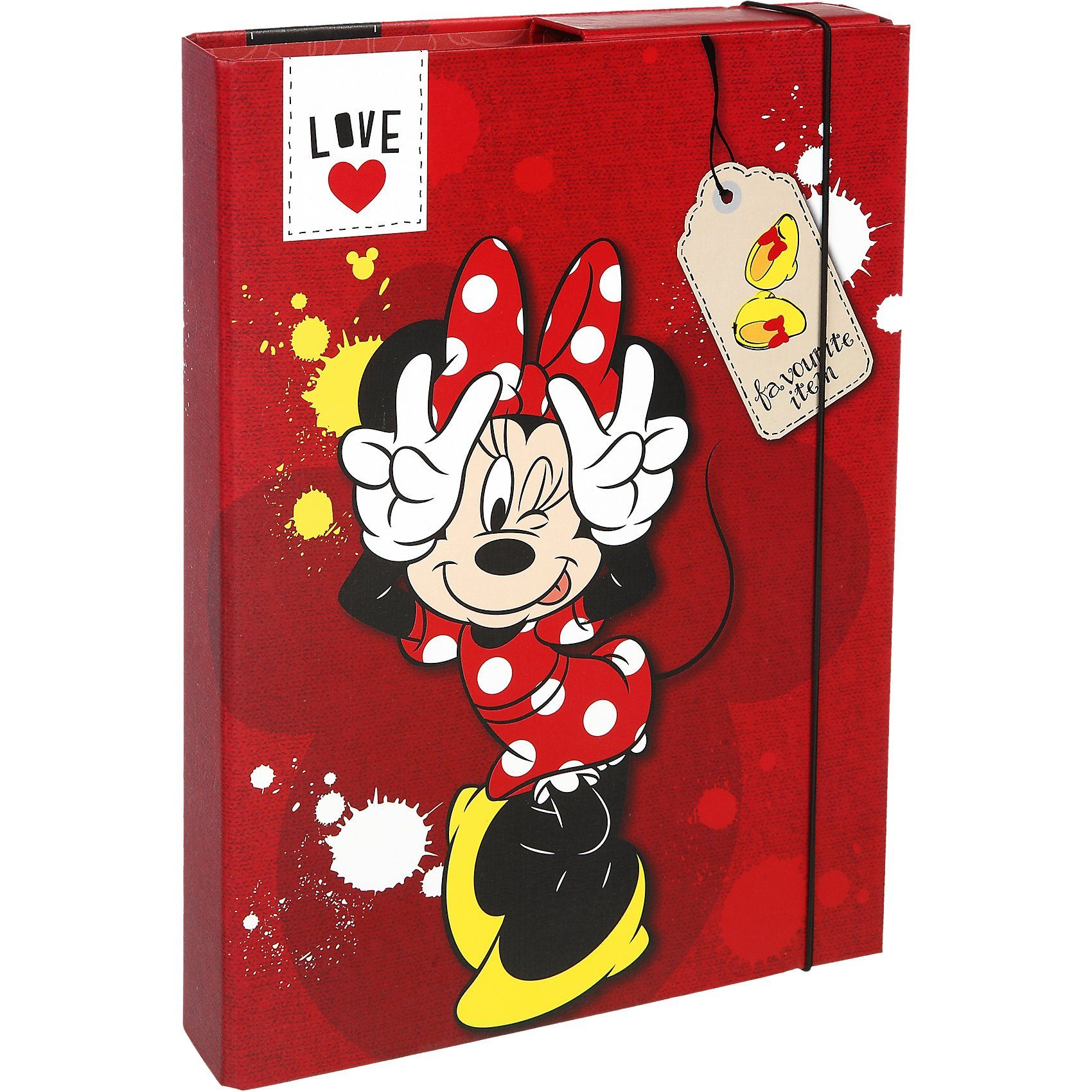 UNDERCOVER Heftbox Minnie Mouse A4