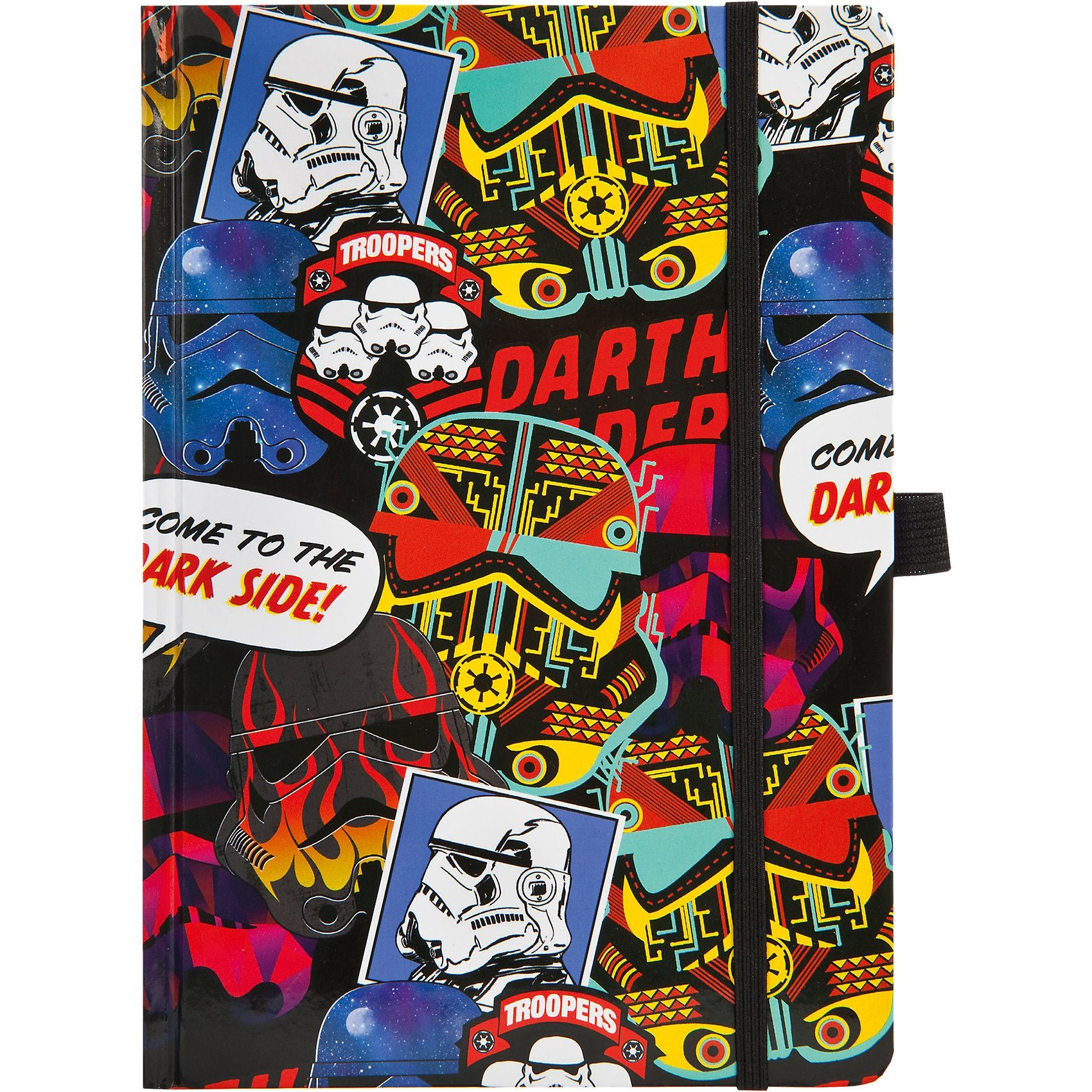 UNDERCOVER Notizbuch A5 Star Wars Patch, blanko