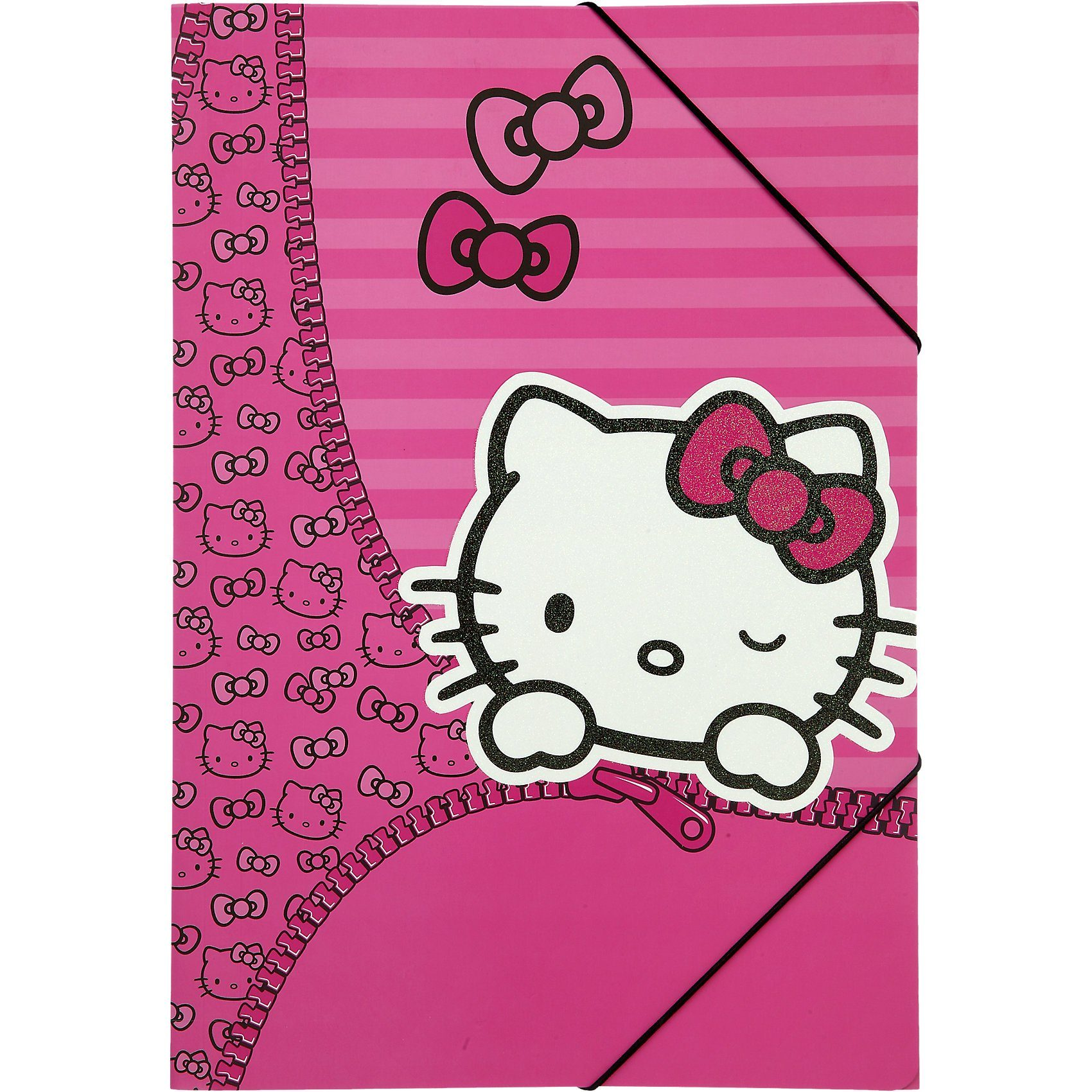 UNDERCOVER Gummizugmappe A3 Hello Kitty