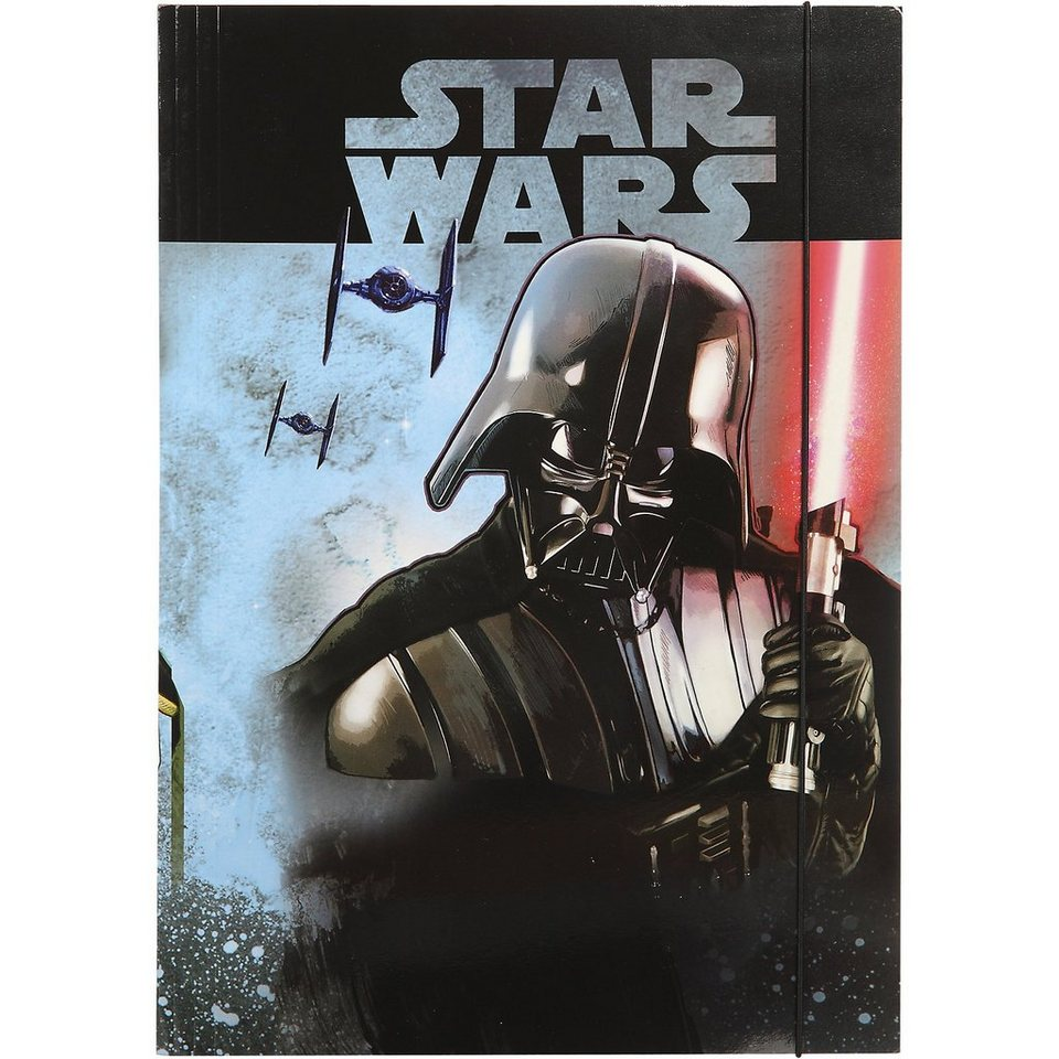 UNDERCOVER Gummizugmappe A3 Star Wars