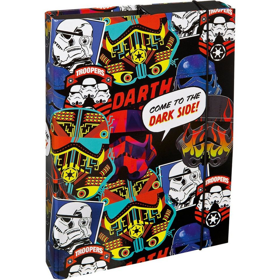 UNDERCOVER Heftbox A4 Star Wars Patch