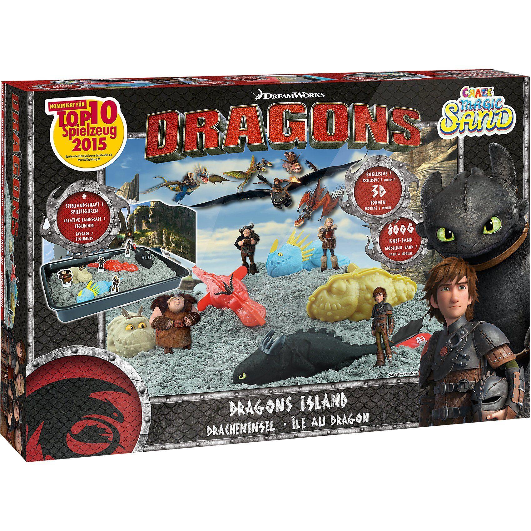CRAZE Magic Sand Box Dragons