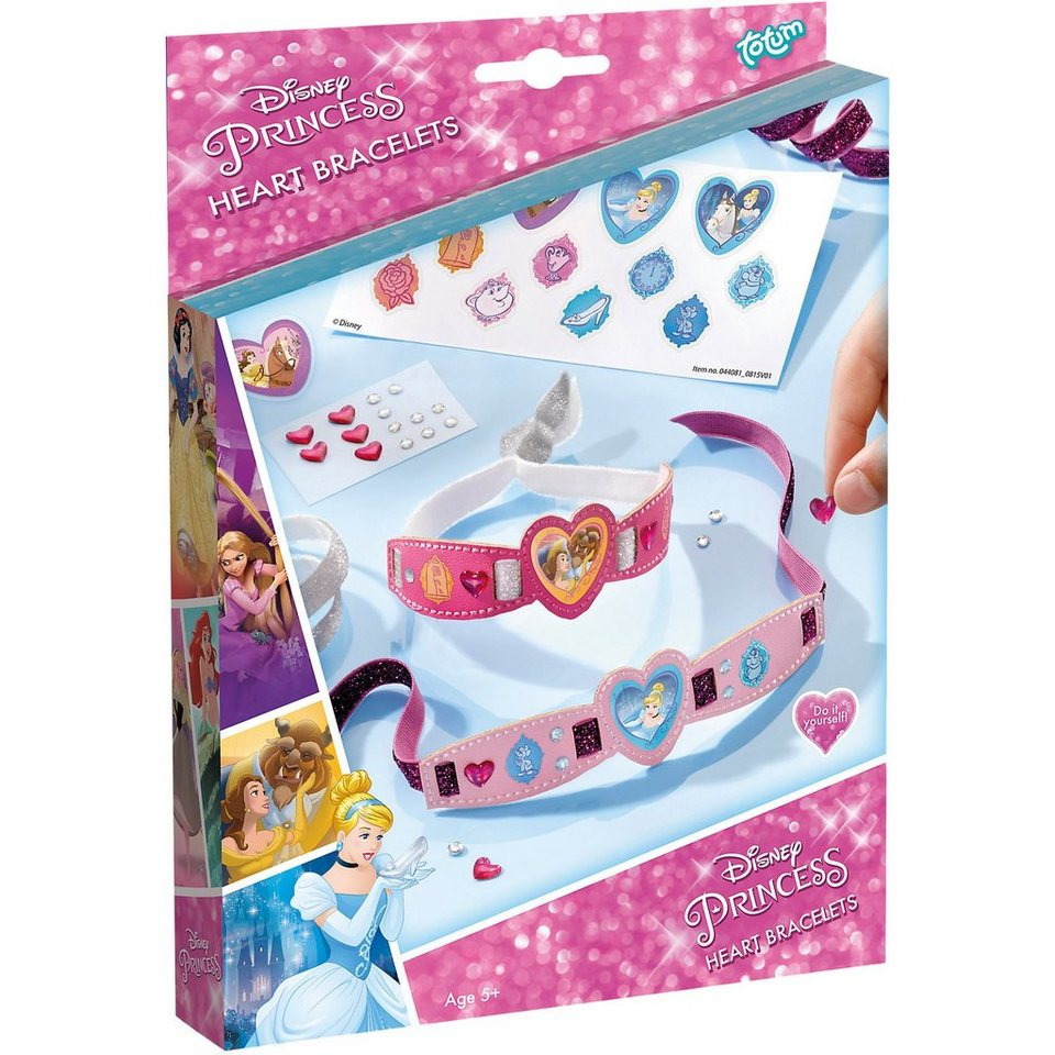 TOTUM Kreativset Armbänder Disney Princess