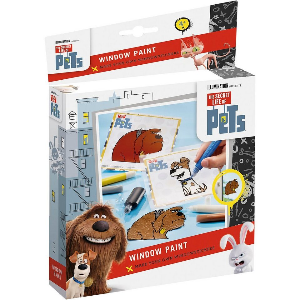 TOTUM Kreativset Window Color Pets