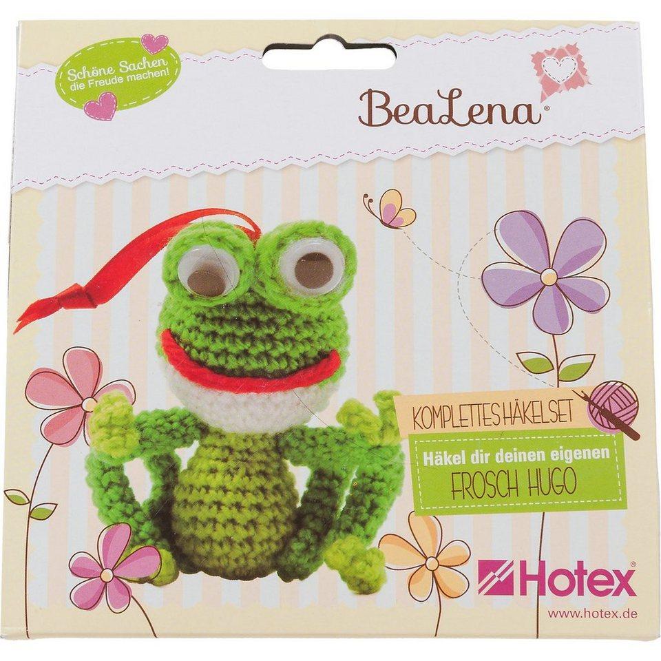 Hotex BeaLena Häkelset Frosch Hugo