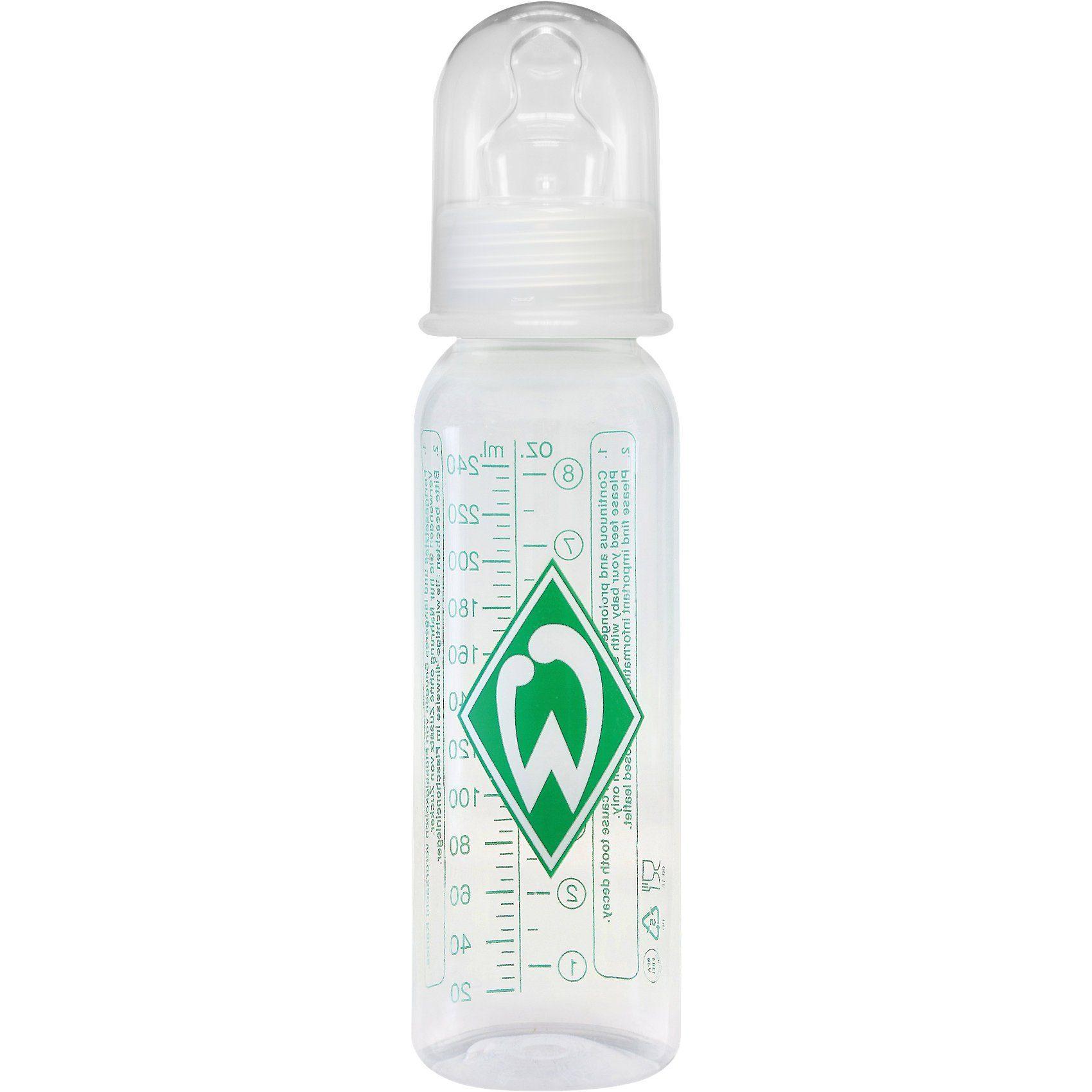 MAM Standard Flasche, PP, 250 ml, Silikonsauger, SV Werder Breme