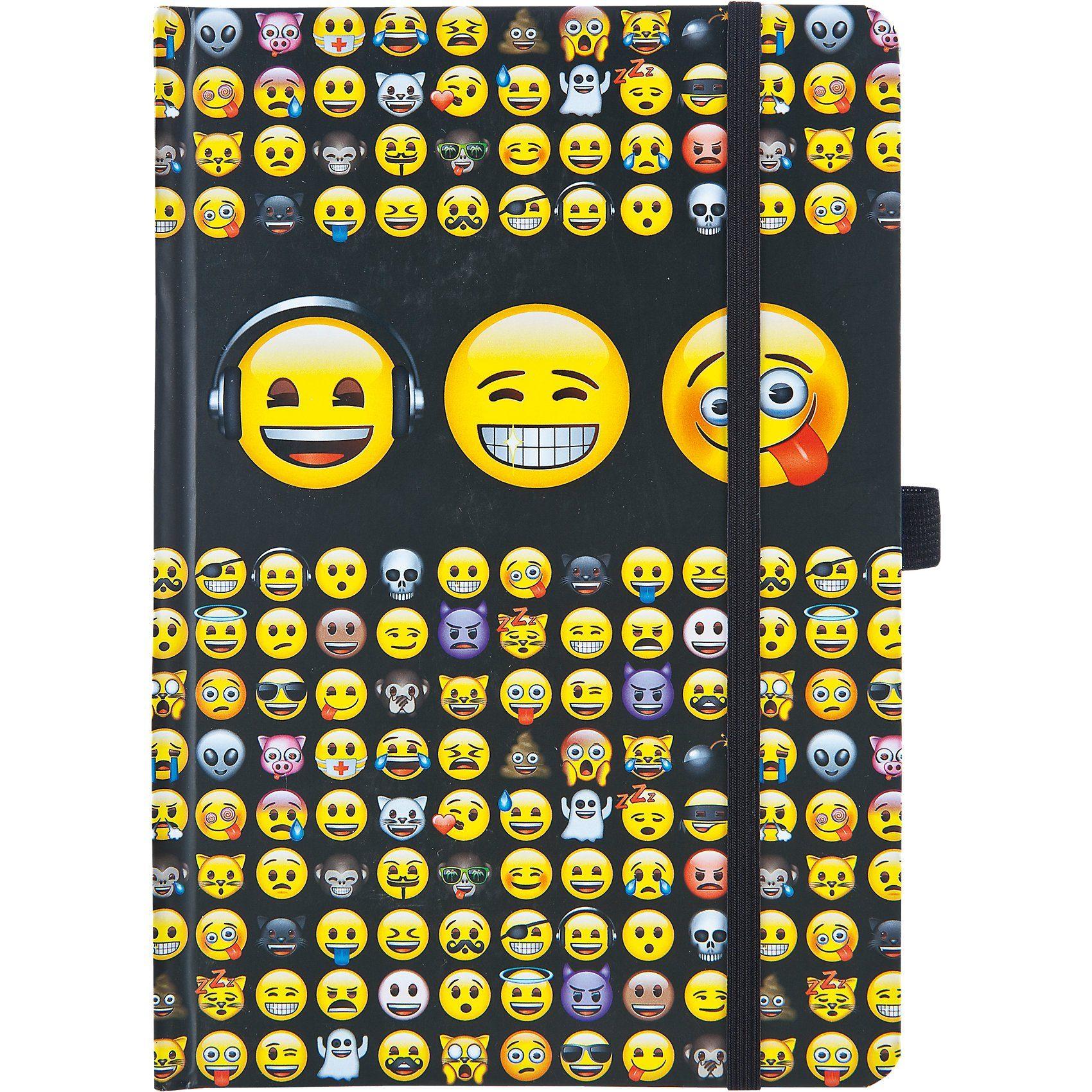 UNDERCOVER Notizbuch A5 Emoji
