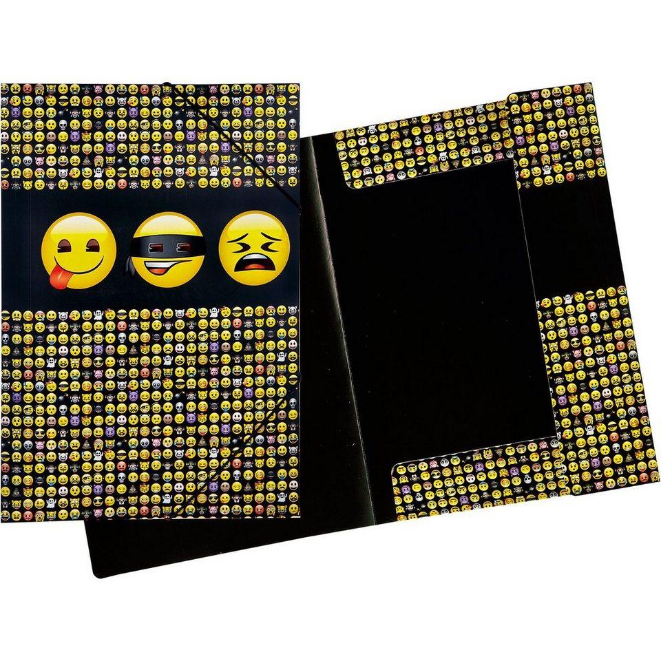 UNDERCOVER Gummizugmappe A3 Emoji