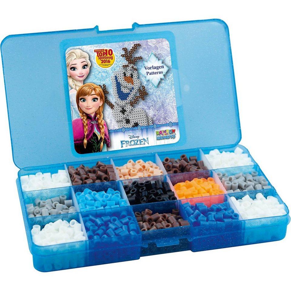 CRAZE Bügelperlen Sortierbox Die Eiskönigin (ca. 1.800 Perlen)