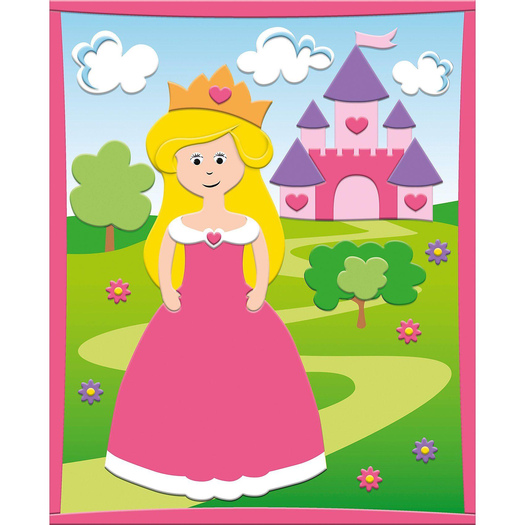 URSUS 3D Moosgummi-Bild Prinzessin