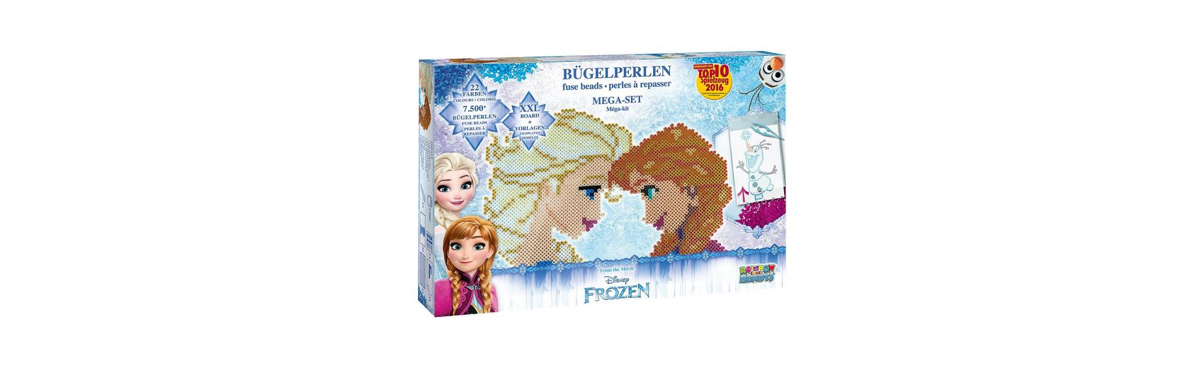 CRAZE Bügelperlen Mega-Set - Die Eiskönigin