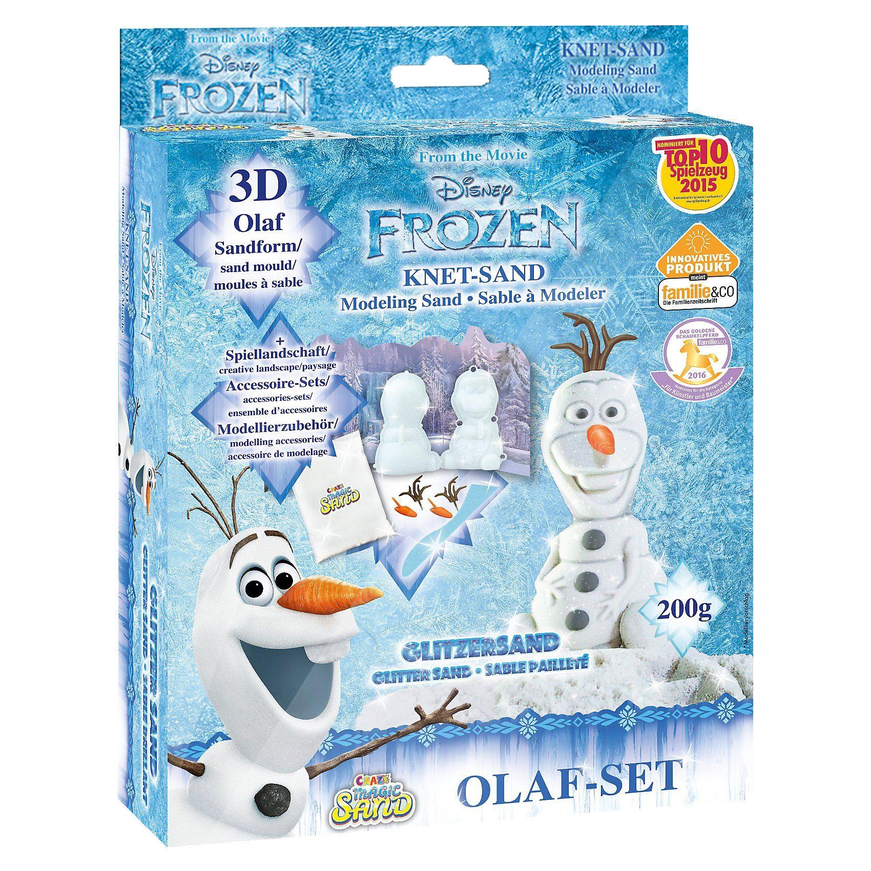 CRAZE Magic Sand Box 3D Olaf