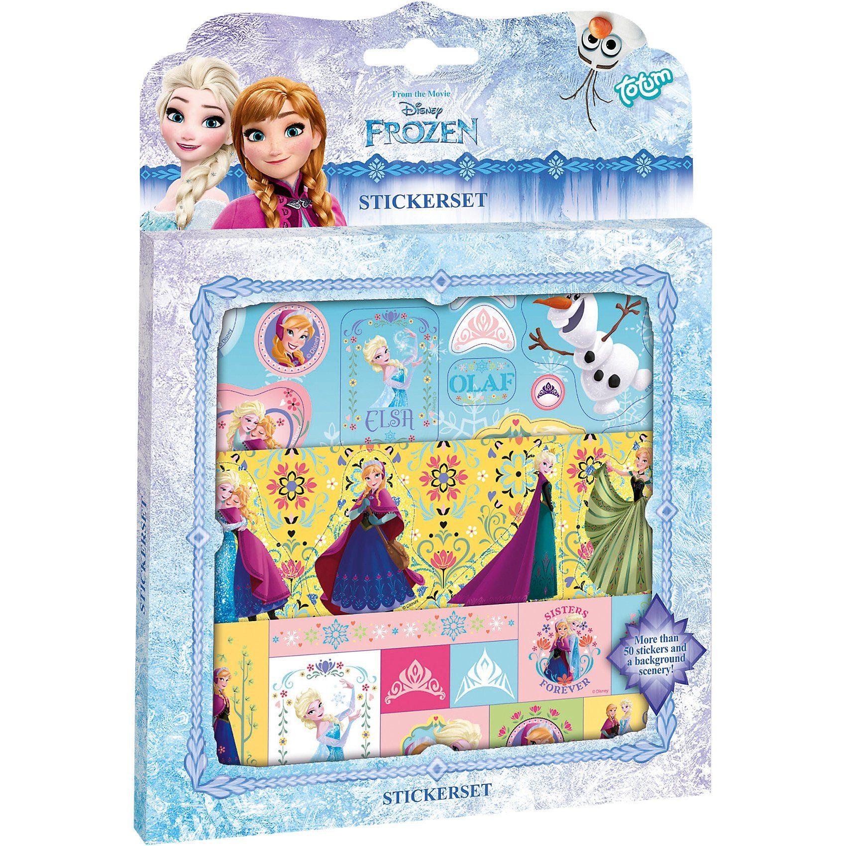 totum Disney Die Eiskönigin Stickerset