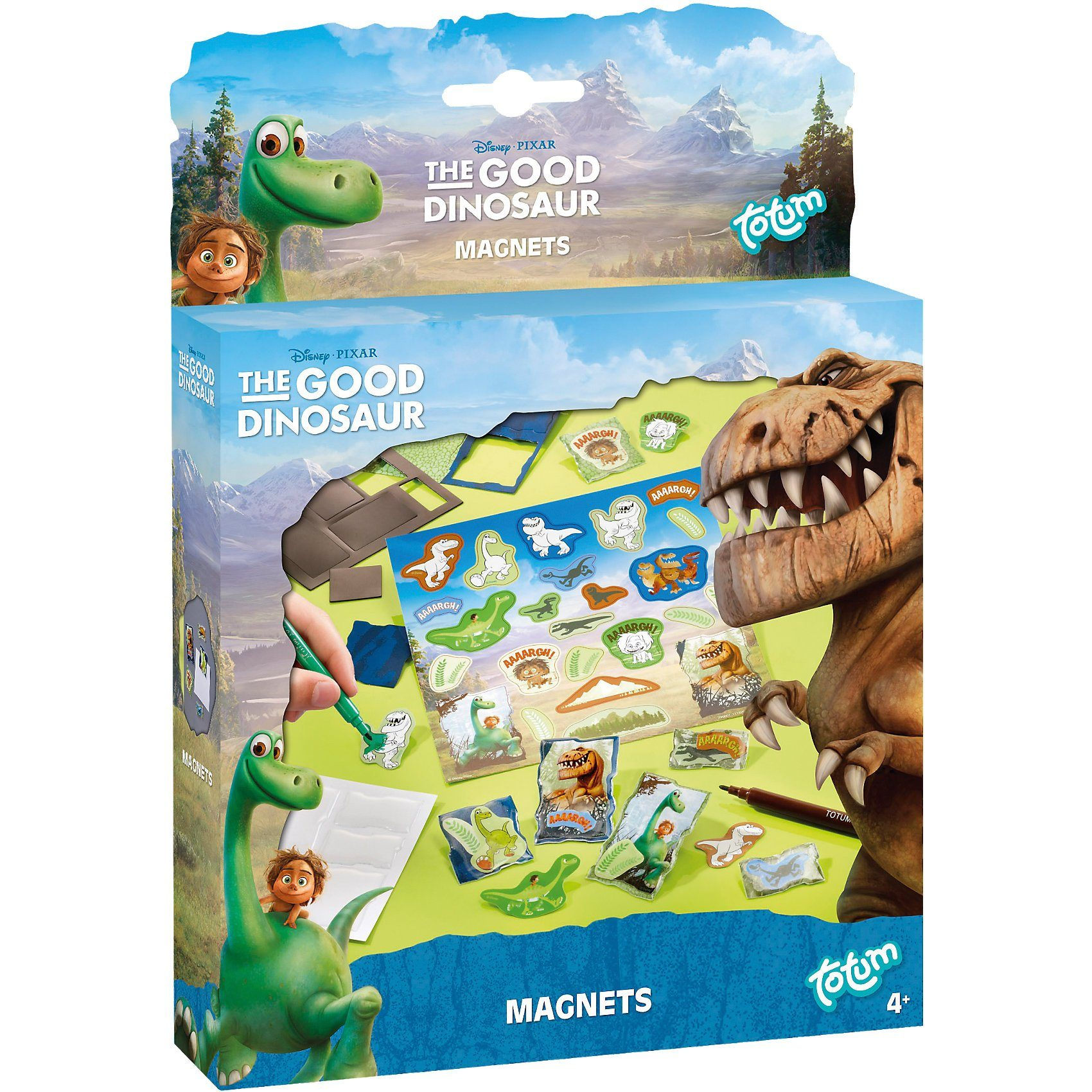 TOTUM Disney the Good Dinosaur Magnets