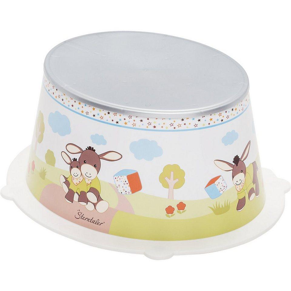 Rotho Babydesign Trittschemel Style, Sterntaler Emmy, weiß in weiß