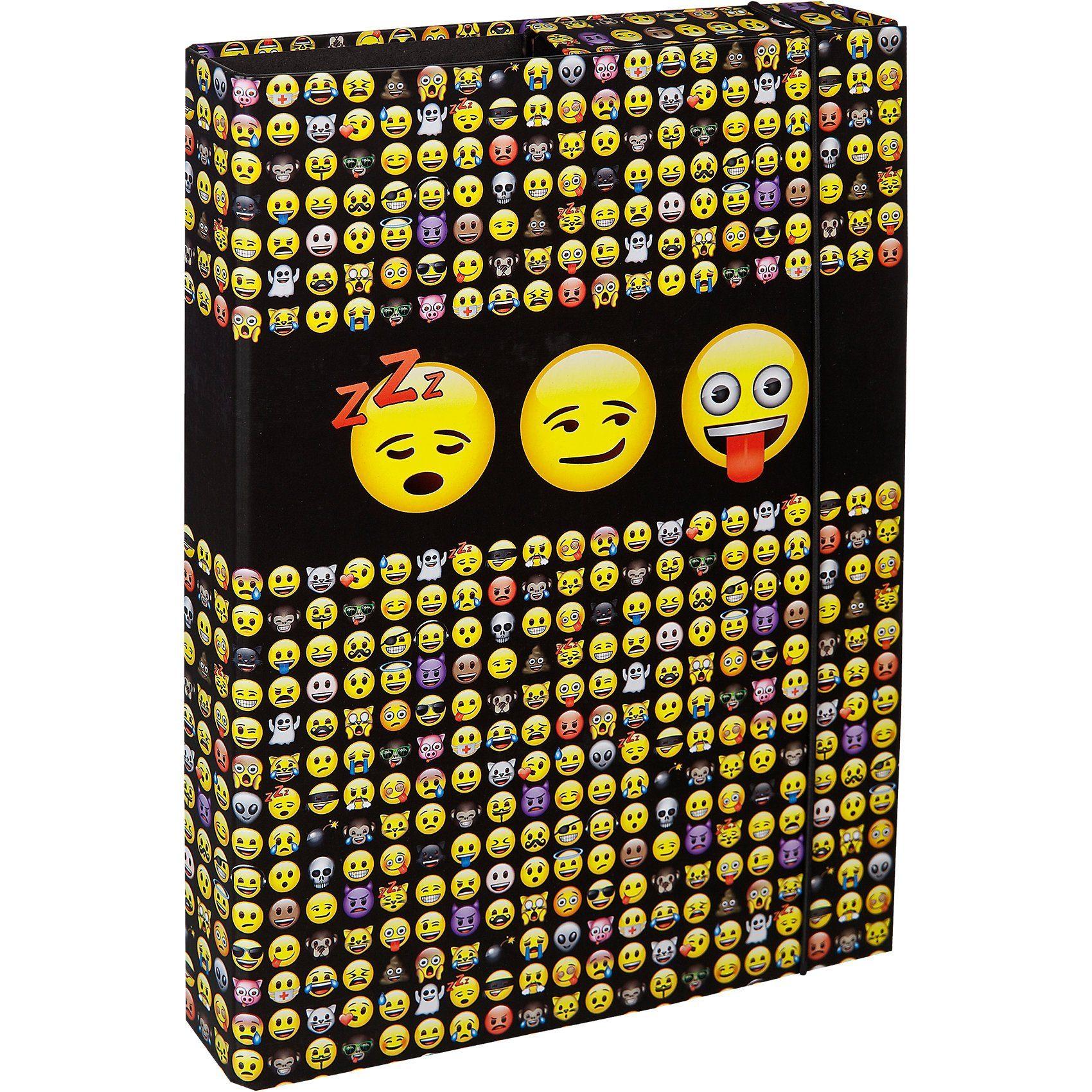 UNDERCOVER Heftbox A4 Emoji