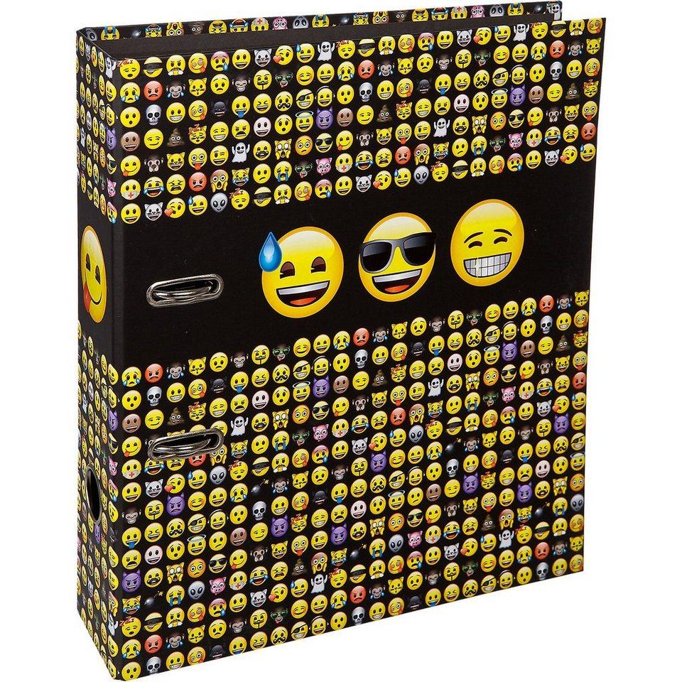 UNDERCOVER Schulordner A4 Emoji
