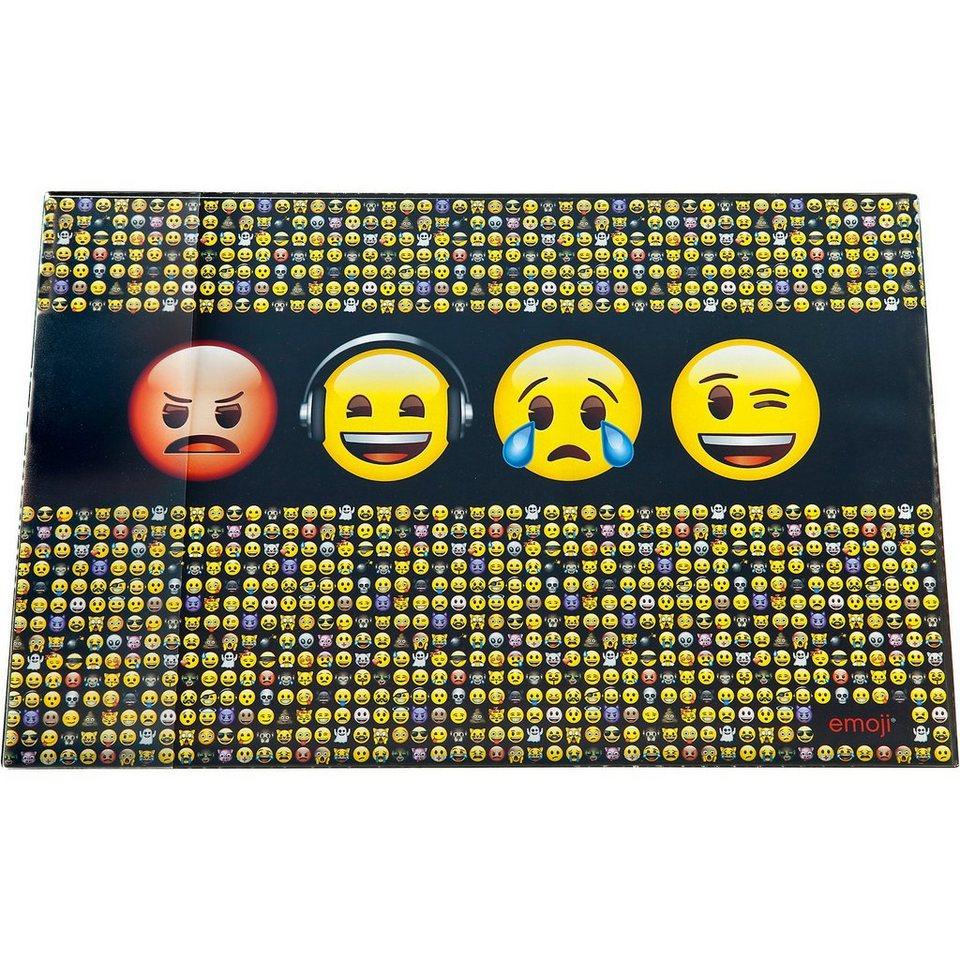 UNDERCOVER Schreibtischunterlage Emoji