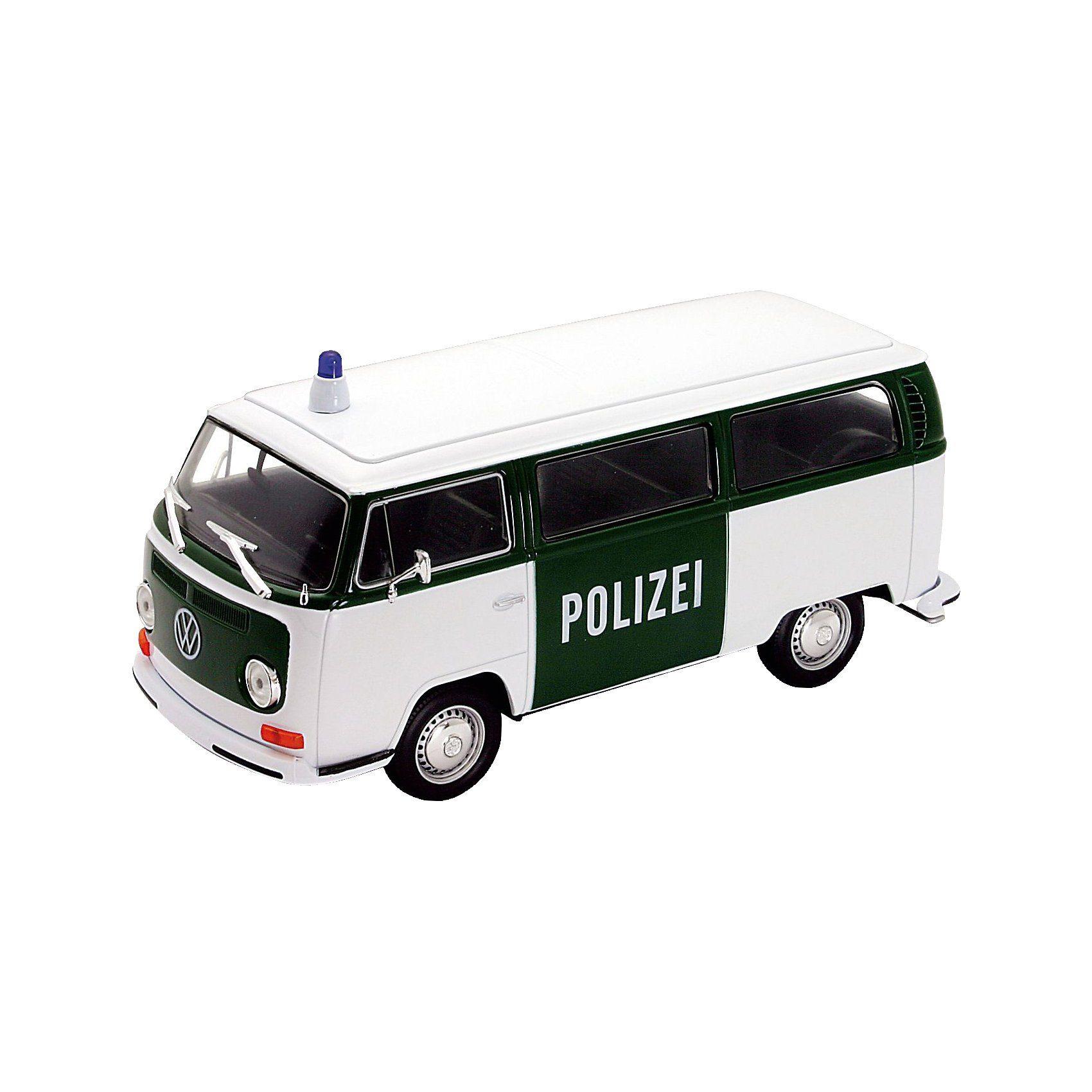 Welly Volkswagen Bus T2 1972 grün/weiß 1:24