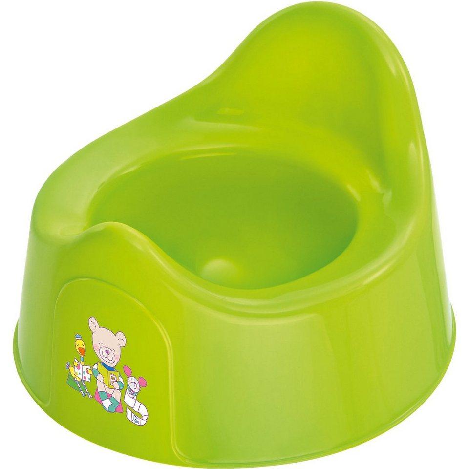 Rotho Babydesign Töpfchen Bella Bambina, Beste Freunde, applegreen in apfelgrün