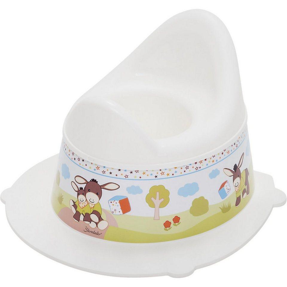 Rotho Babydesign Töpfchen Style, Sterntaler Emmy, weiß in weiß