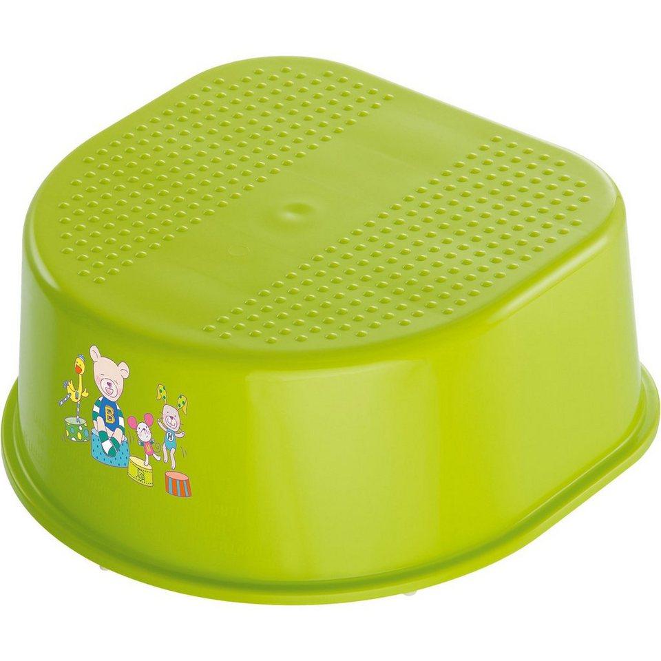 Rotho Babydesign Trittschemel Bella Bambina, Beste Freunde, applegreen in apfelgrün