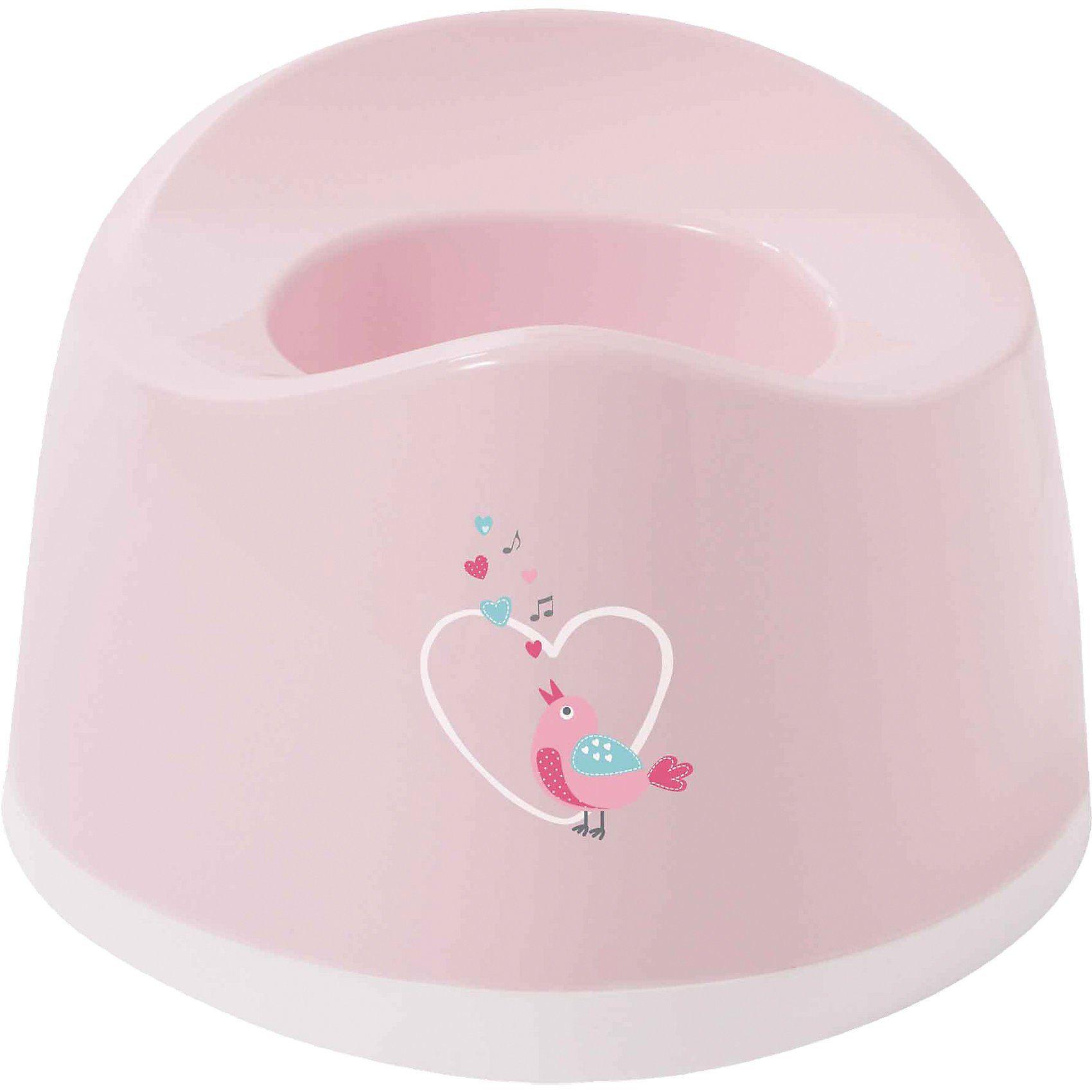 bébé-jou Töpfchen Sweet Birds, rosa