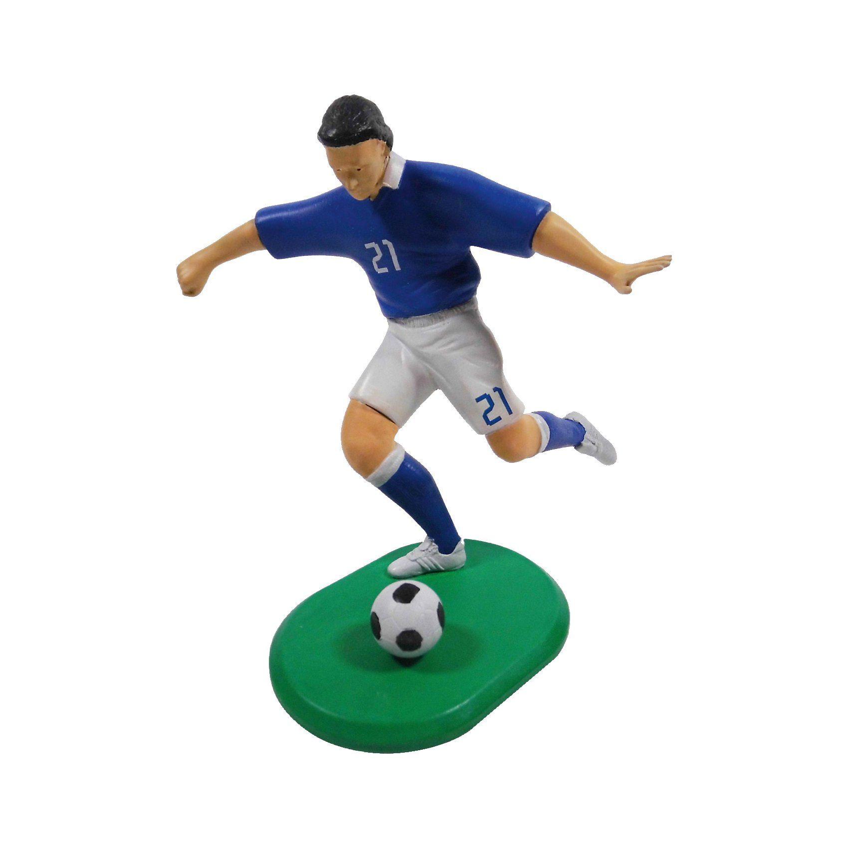 Glow2B Fußballspieler Italien 2016 - Modellbausatz mit Farben