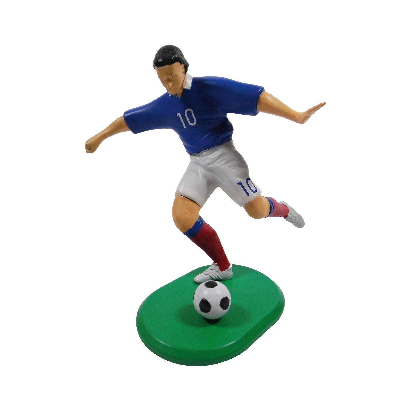 Glow2B Fußballspieler Frankreich 2016 - Modellbausatz mit Farben