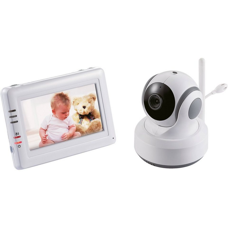 "SWITEL Video Babyphone BCF 989 mit 4,3"" Farb-LCD-Touchscreen"