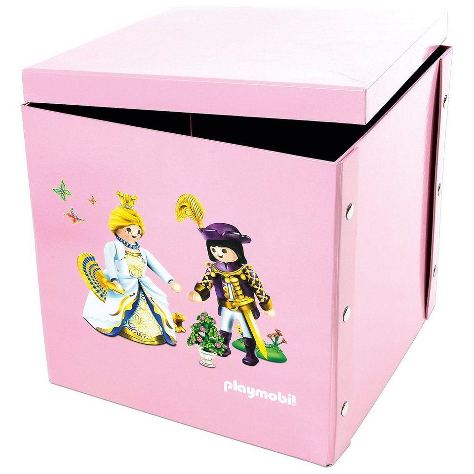 ProType Spiel- und Aufbewahrungsbox Prinzessinnen in rosa